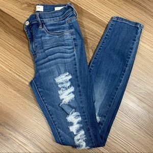 PACSUN Distressed Jeggings Size 26